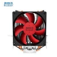 Pccooler Honghai Mini Enhanced Double Fan CPU Cooler Fan With 2 Heat Pipes 4 Pin Fan