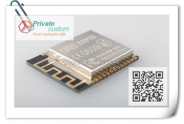 (2PCS with Tracking Number and Free shipping) ESP-32 wireless Bluetooth + serial WIFI module Transcend ESP8266