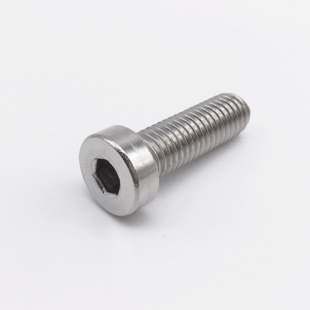 M8 Screws Low Profile Cap Screws Socket Head Hex Bolt Stainless Steel Metric Fastener