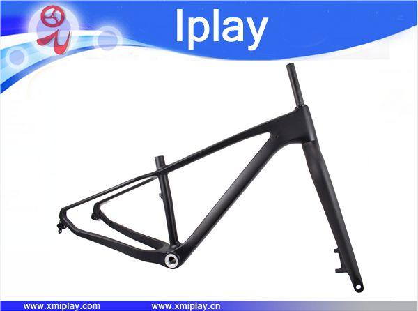 Hot Selling Carbon Fat Bike Frame With Fork BSA Carbon Snow Bike Frameset 26er*4.8