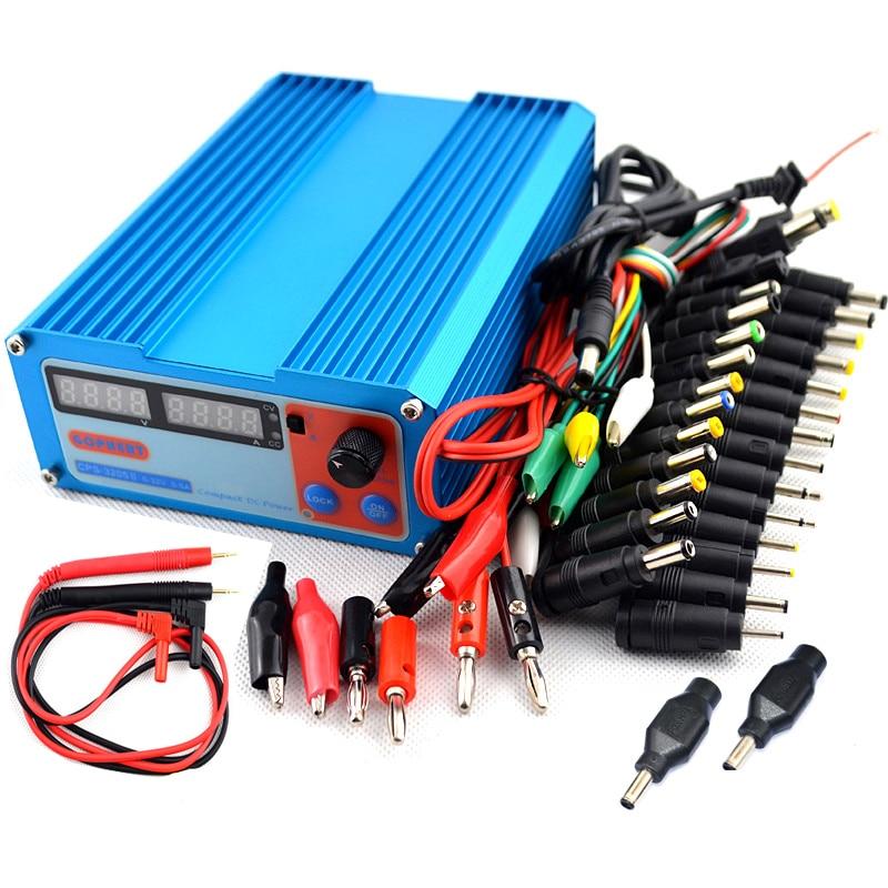 CPS 3205II 110V 220V 0 32V 0 5A Compact Digital Adjustable DC Power Supply 39pcs set