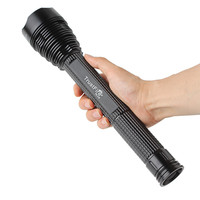 TrustFire J18 7 X XM L2 8000Lm Waterproof LED Tactical Torch Light Extended Flashlight Holster