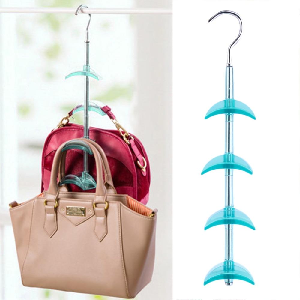 New Arrival 4 Hooks Handbag Bag Holder Shelf Hanger Hanging Rack Storage Organizer In Holders Racks From Home Garden On Aliexpress Alibaba