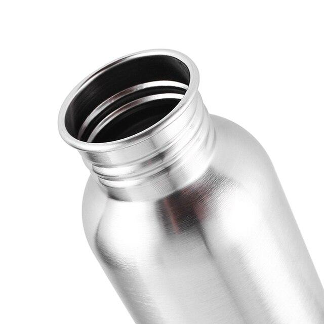 Gourde inox grise bouchon 3304 sans bpa