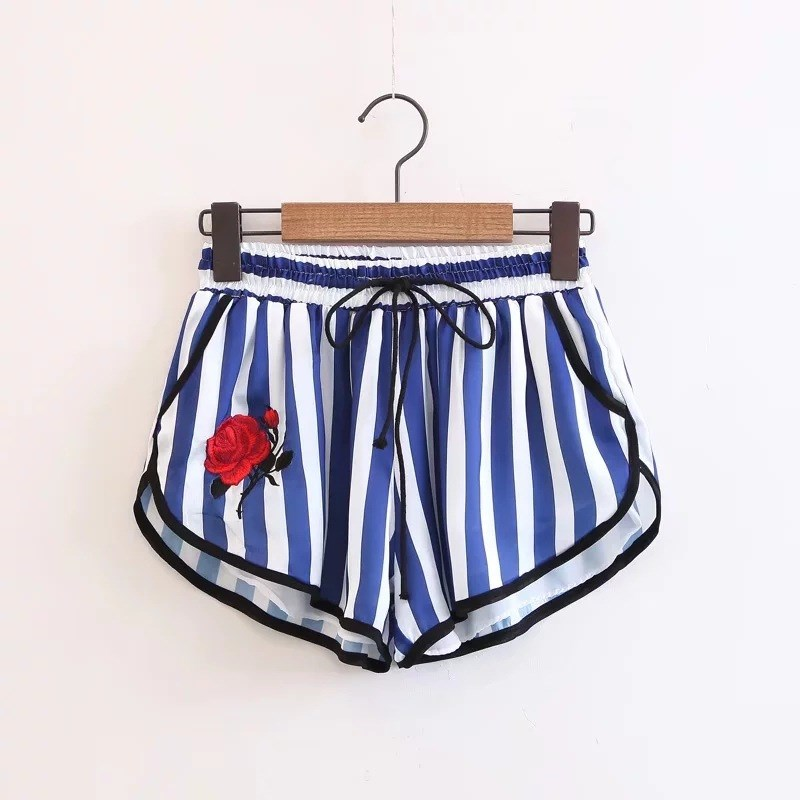 Popular Red and White Striped Shorts Womens-Buy Cheap Red and ...