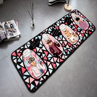 Cat Print Floor Carpets Rugs For Bedroom Bathroom Living Room Cartoon Mats Kitchen Funny Entrance Mat