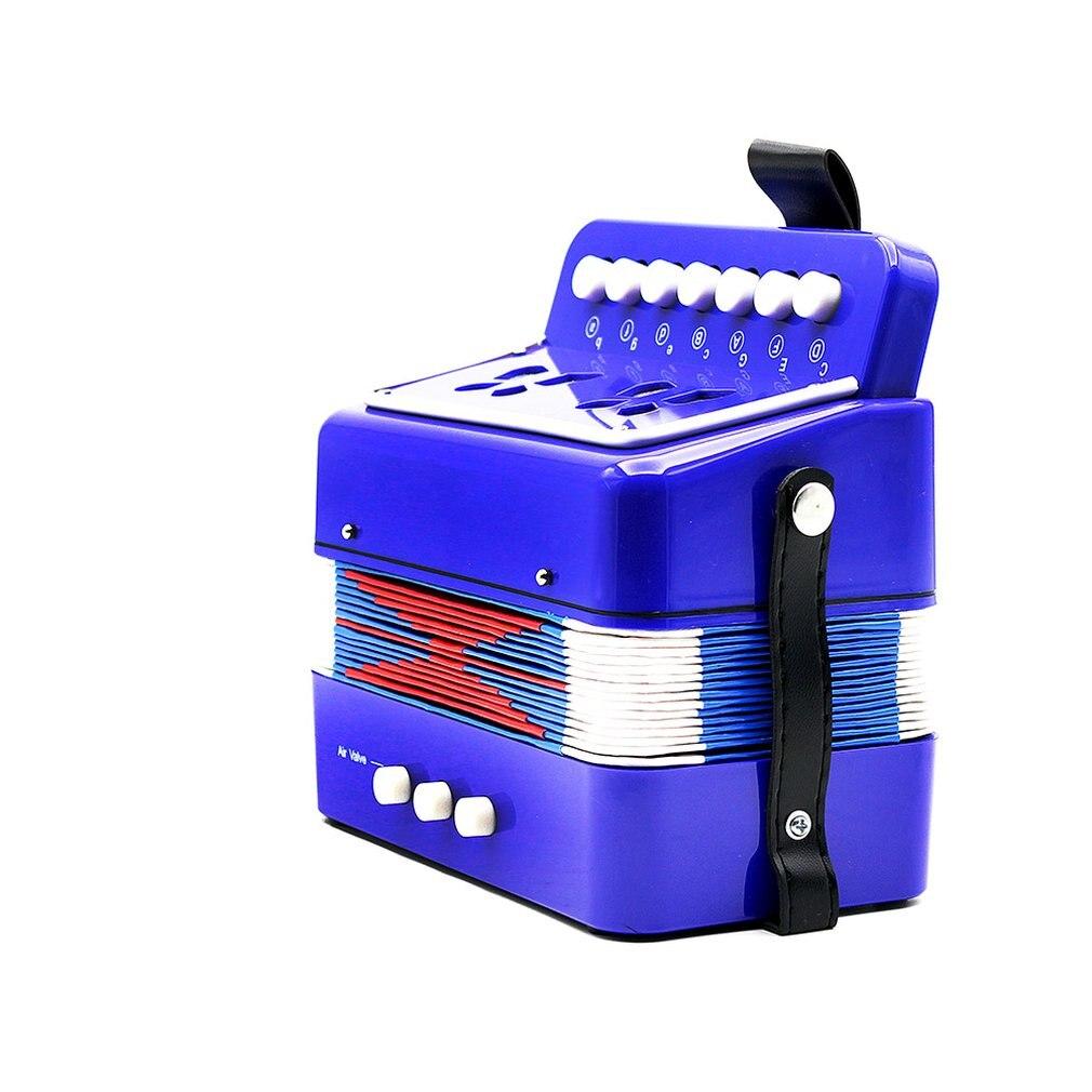 Mini 17 de acordeón clave Durable 8 acordeón bajo instrumento Musical educativo para aficionados principiantes niños acordeón ritmo