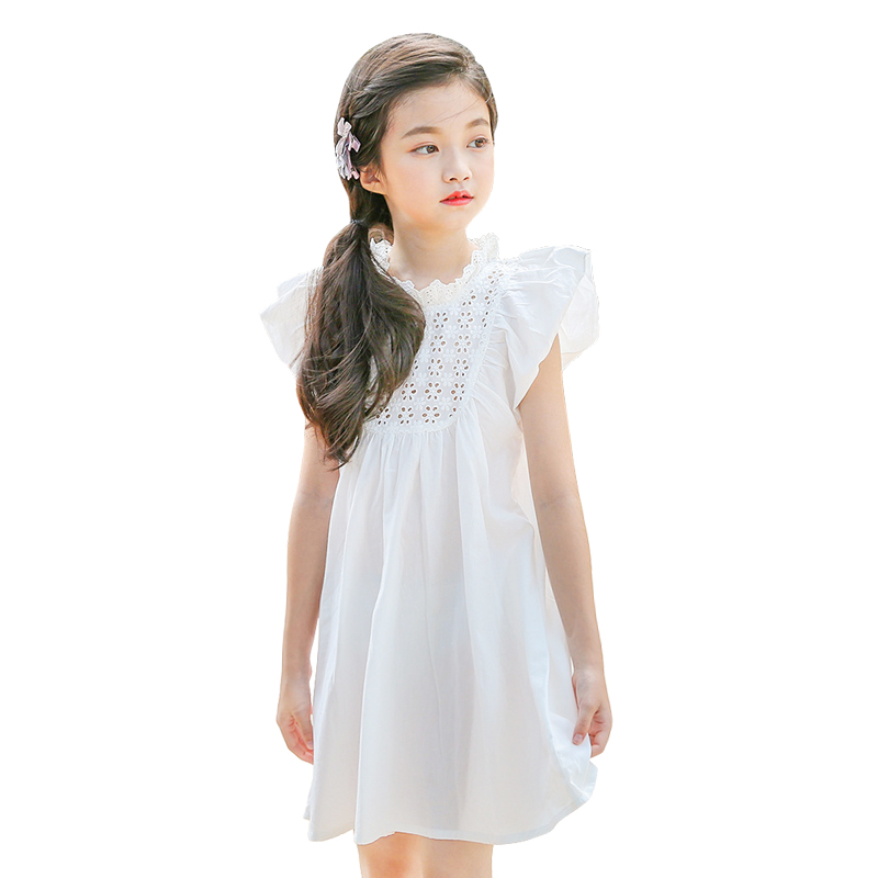 ... Silk Gauze Girls Dress Princess Lace Dress Flower Girl Dresse for Party  and Wedding-in Dresses from Mother   Kids on Aliexpress.com AlibabaDresses c677822ba81a