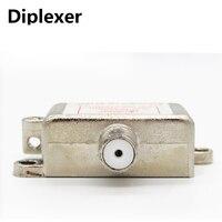 2 In 1 Dual Use 2 Way Port TV Signal Satellite Sat Coaxial Diplexer Combiner Splitter