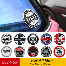 Мода Юнион Джек наклейки Декор окна для Mini Cooper One земляк F55 F56 R55 R56 R60 F60 аксессуары для стайлинга автомобилей