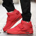 Fashion New Men High Top Casual Shoes Air Bottom Breathable Trainers Superstars Red Bottom Shoes Walking Sport Basket Shoes Men
