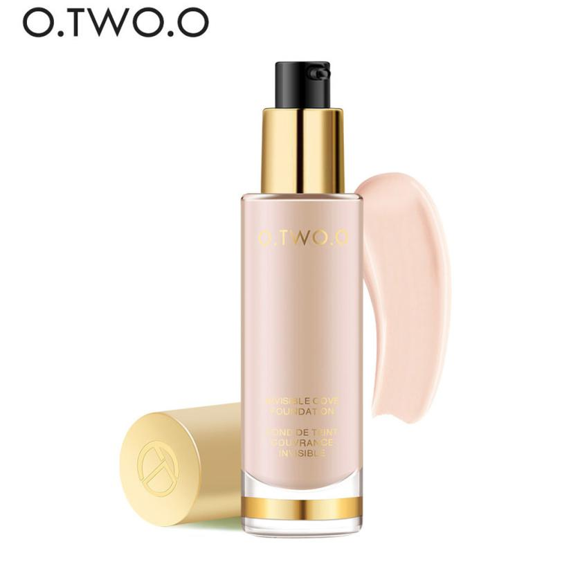 O.TWO.O Face Makeup Foundation Liquid foundations Moisturizer Waterproof Whitening Concealer Brighten Natural Cosmetics#121