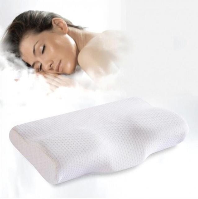 Orthopedic Latex Magnetic 50*30CM White Color Neck Pillow Slow Rebound Memory Foam Pillow Cervical Health Care Pain Release 1