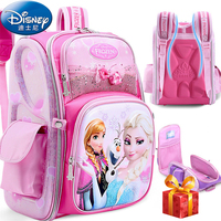 Disney 2019 Frozen&Snow White Protect the Spine Backpacks Fashion Schoolbag Kids Backpack Kid School Bags for Girls Grade 1 4