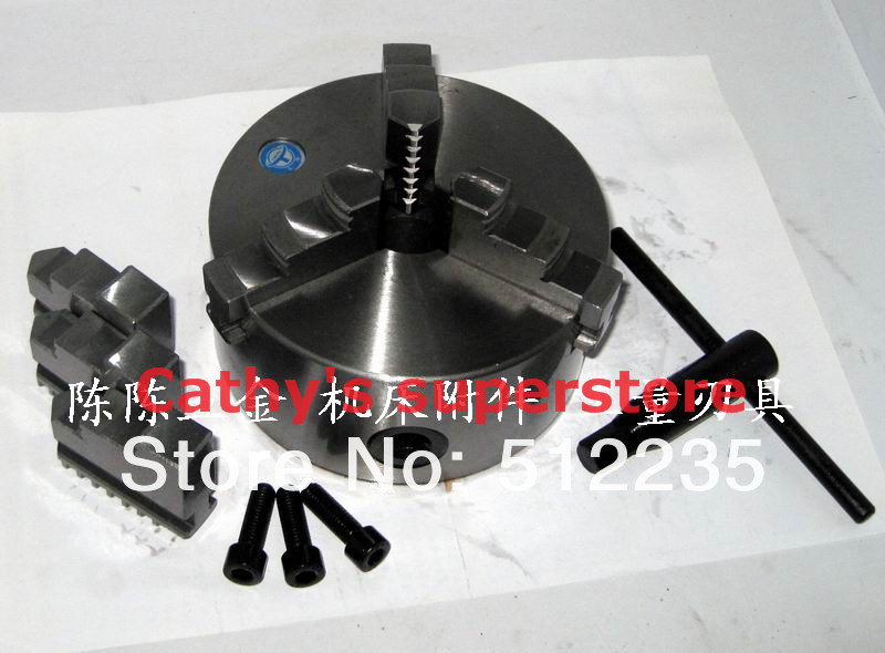 Manual Jaw self-centering chuck K11 200 lathe chuck 3 3 jaw lathe chuck k11 80 k11 80 80mm manual chuck self centering lathe parts diy metal lathe lathe accessories
