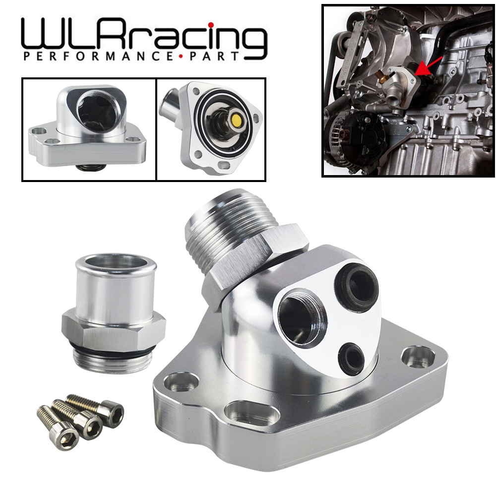 US $21 89 23% OFF|WLR RACING For Acura Honda Civic K20/K24 K Swap Swivel  Neck Thermostat Cooling Component Housing radiator hose WLR CTT01 on