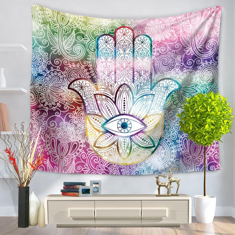 Buddha Tapestry Wall Hangings 2017 indian buddhism lotustapestry 2 sizes beach towels tapestry