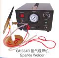 220V Pulse Argon Spot Welder 400W Gold Silver Platinum Jewelry Welding Machine