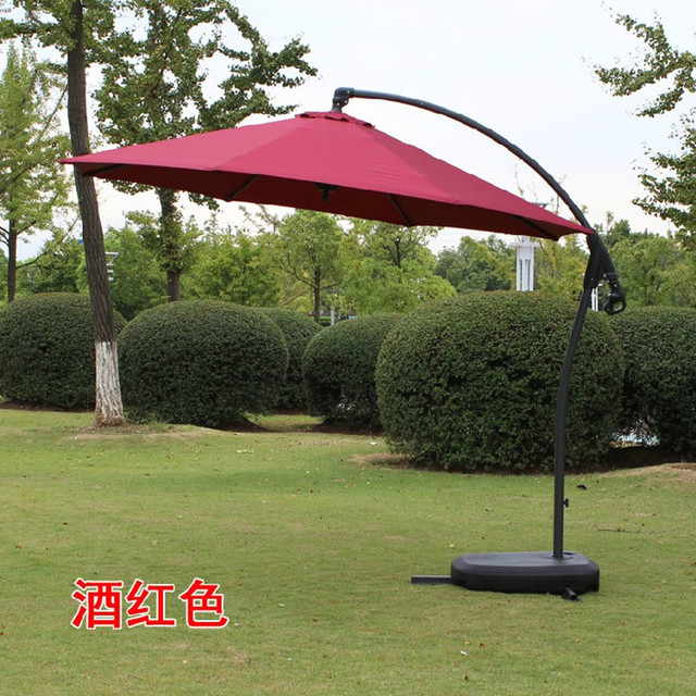 Exceptionnel Aluminum Outdoor Umbrella Patio Umbrellas Upscale Side Terrace Tea Shop