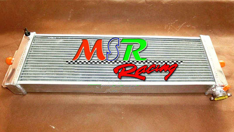 Brand New For Cobalt Mustang Aluminum Heat Exchanger Air To Water Intercooler 24 X8