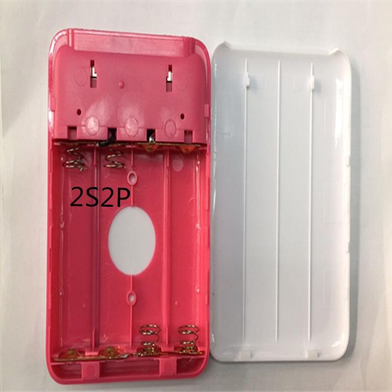 KingWei Aili Double USB port mobile power bank box 5V 9V 12V 18650 battery box shell portable power case
