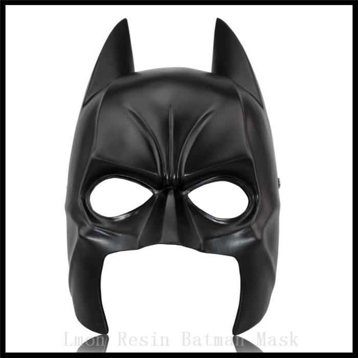 top grade batman resin mask black moivestheme superhero masks for dark night masque costume cosplay hot - Price Of Halloween Horror Nights