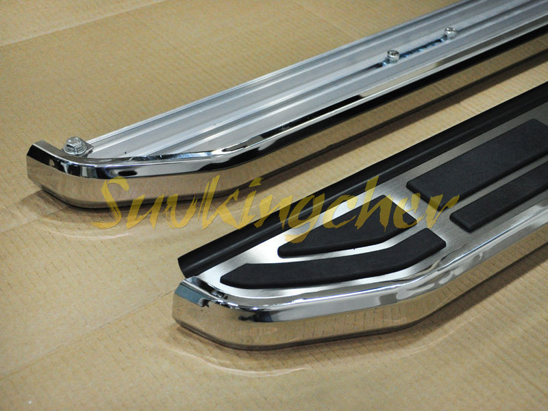 fit  vw volkswagen teramont atlas   running board side step nerf bar  pedals