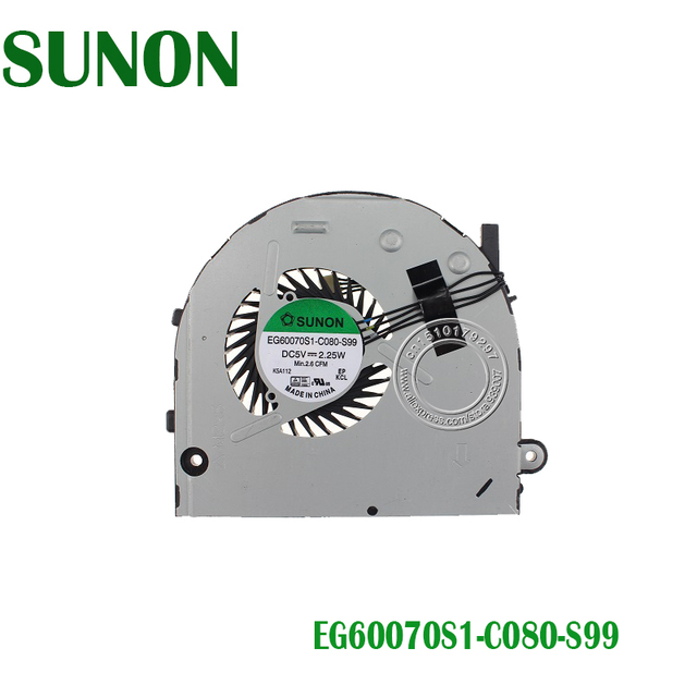 SUNON Laptop CPU FAN For Lenovo B40 30 B40 45 B40 70 B50 30 B50 EG60070S1 C080 S99