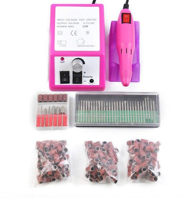 Electric Nail Manicure Pedicure Drill File Tool Set | Splendid ...
