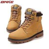 Winter Warm Ankle Shoe Waterproof Sneak Winter High Style Martin Outdoor Plus Cashmere Cotton Runing Shoe