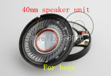 40mm speaker headset hifi diy fever