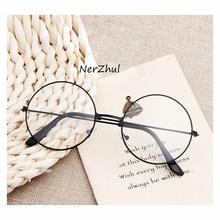 Круглые для очков оправа для очков мужские/женские прозрачные поддельные очки круглые оправы для очков для женщин/мужчин