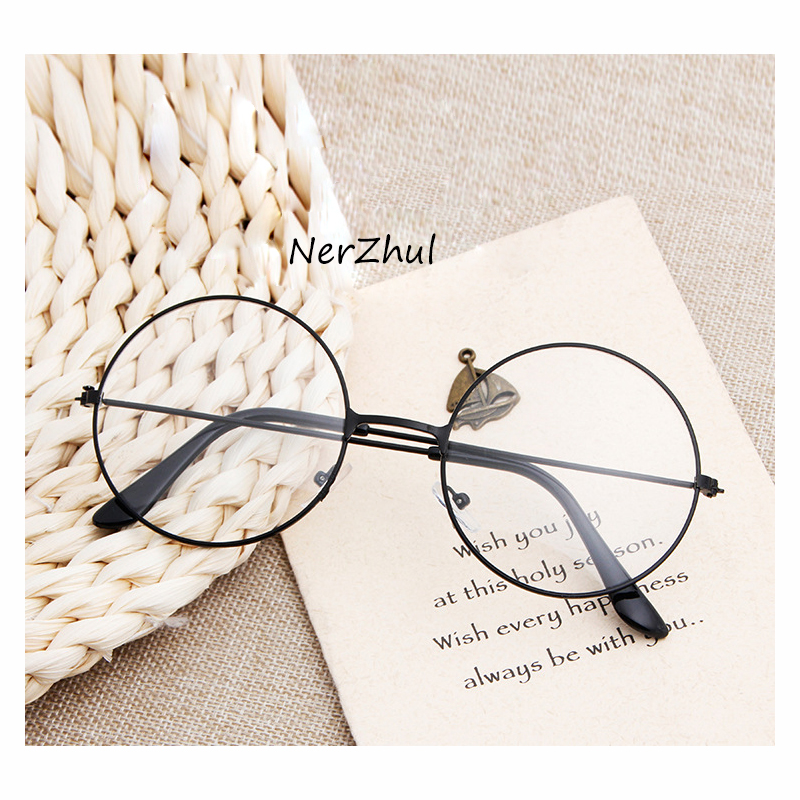 Round Eyeglasses Glasses Frame Men/women Clear Fake Glasses Eyeglass Round Eye Glasses Frames For Women/men
