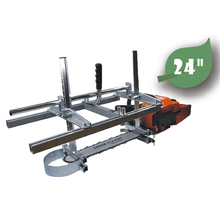 Portable Chainsaw Mill Planking Farmertec-Made 14''-To-24''-Guide-Bar 24inch