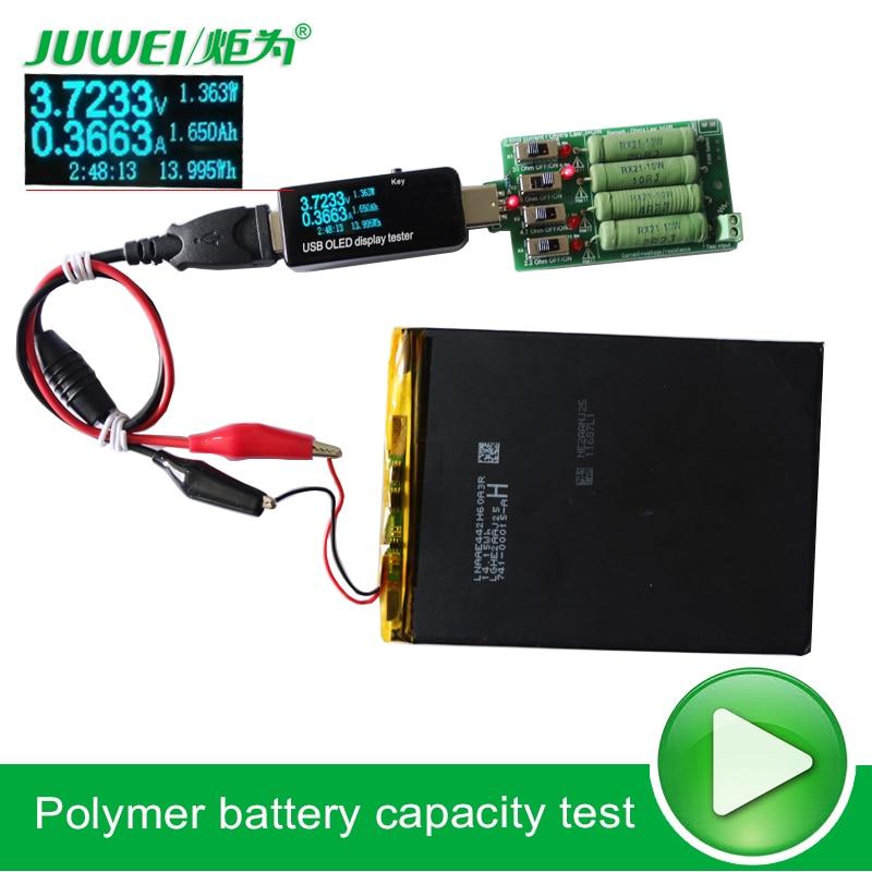 Probador de batería / USB Voltímetro de CC amperímetro 18650 - Instrumentos de medición - foto 3