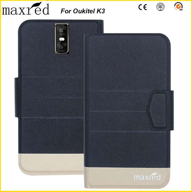 5 Colors Original! K3 Oukitel Case Fashion Luxury Ultra-thin, High quality Leather Exclusive Case for Oukitel K3