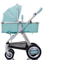 Baby stroller sitting lying folded winter summer baby child stroller light stroller