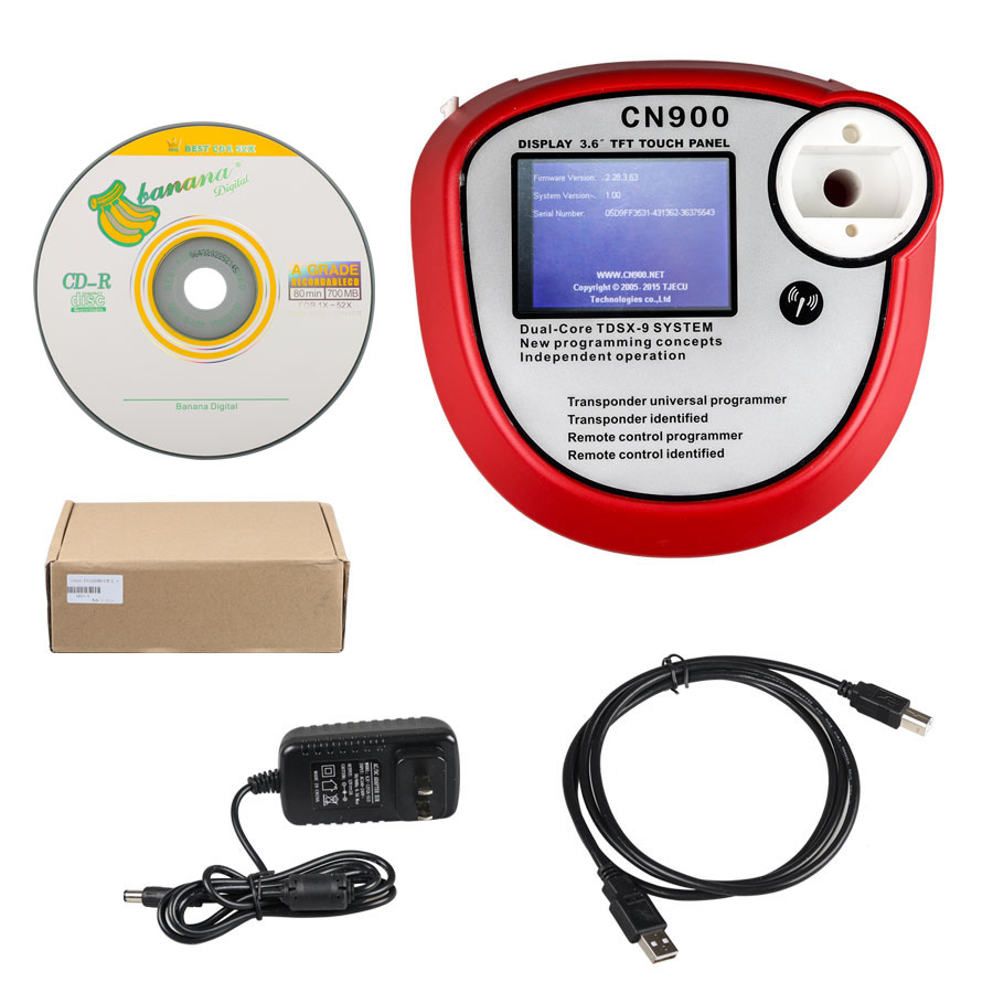 Free shipping OEM CN900 Auto Key Programmer CN900 mini key programmer key maker for 4C&4D CHIP CN900 Key programmer  promotion newest ak90 key programmer ak90 pro key maker for b m w all ews version v3 19 plus ak90 with free shipping