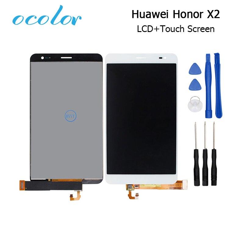 Ocolor Voor Huawei Honor X2 Lcd scherm en Touch Screen Screen Digitizer Vergadering + Gereedschap Voor Huawei Honor X2 Mobiele accessoire-in LCD's voor mobiele telefoons van Mobiele telefoons & telecommunicatie op AliExpress - 11.11_Dubbel 11Vrijgezellendag 1