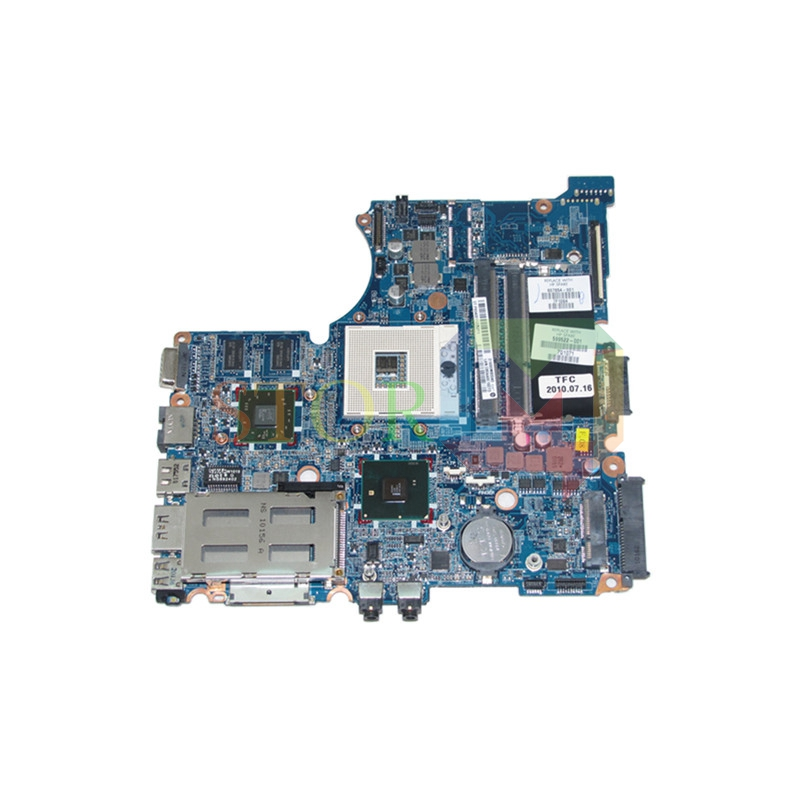 NOKOTION for hp probook 4421s laptop motherboard 599522-001 HM57 HD 5470 DDR3 nokotion sps v000198120 for toshiba satellite a500 a505 motherboard intel gm45 ddr2 6050a2323101 mb a01
