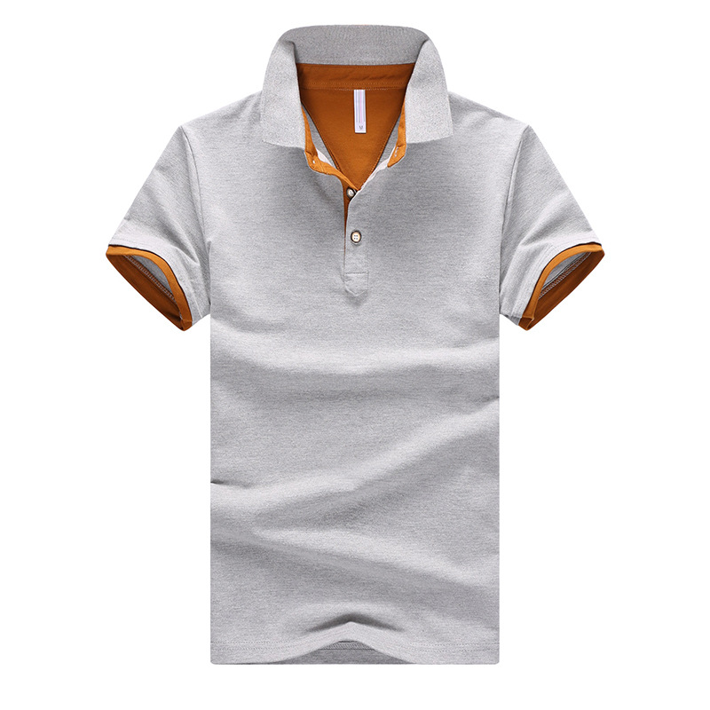 2019 New Summer Polos Mens High Quality Cotton Polo Shirts Short Sleeve Solid Casual Men Clothes Male Polo Shirt Big Size 4XL