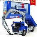 Кран манипулятор грузовик 1:50 сплава модель автомобиля игрушки высокая моделирование инжиниринг, Литье металла, Развивающие игрушки, Бесплатная доставка