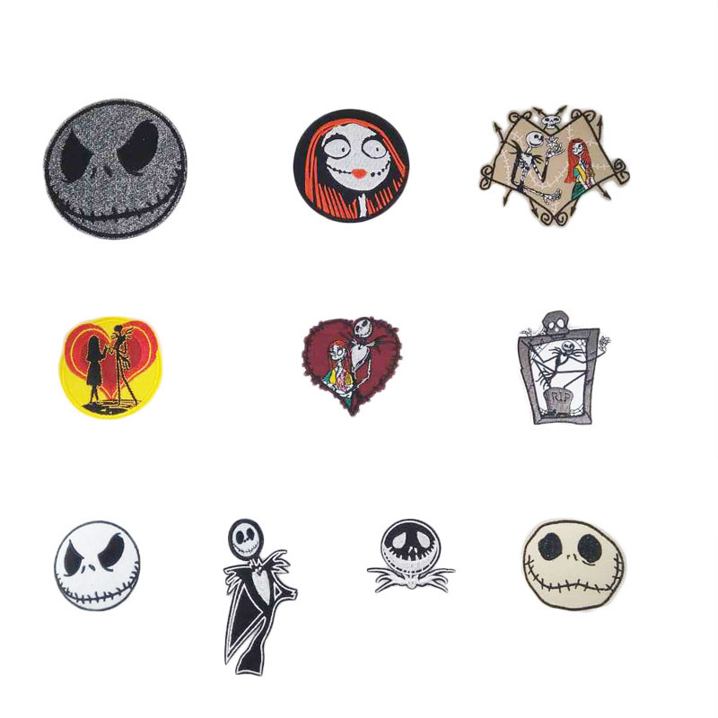 PATCH NIGHTMARE BEFORE CHRISTMAS JACK