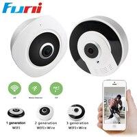 360 Degree Camera IP 3MP Fisheye Panoramic 960P WIFI PTZ IP Cam