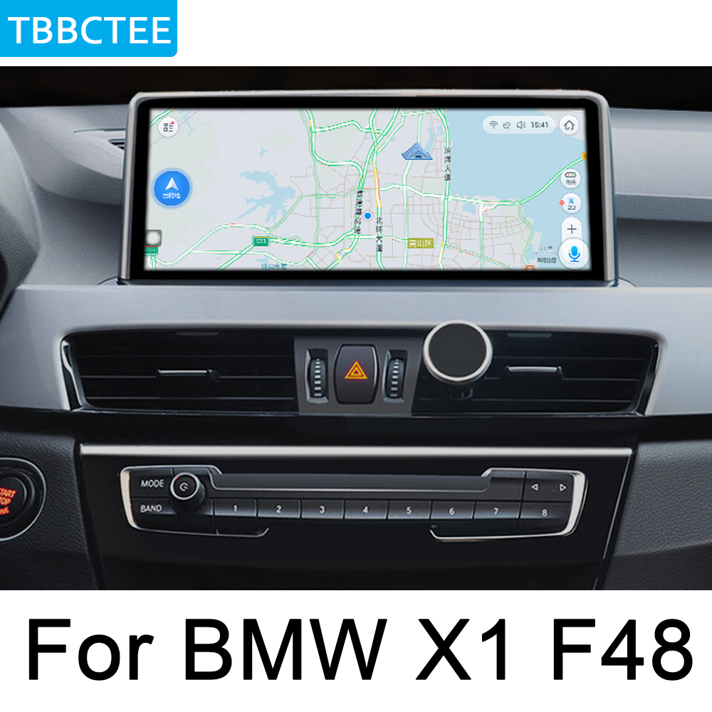 For BMW X1 F48 2016 2017 NBT Car Android Multimedia player WiFi GPS Navi Map Stereo Bluetooth HD 1080p IPS Screen Head Unit in Car Multimedia Player from Automobiles Motorcycles