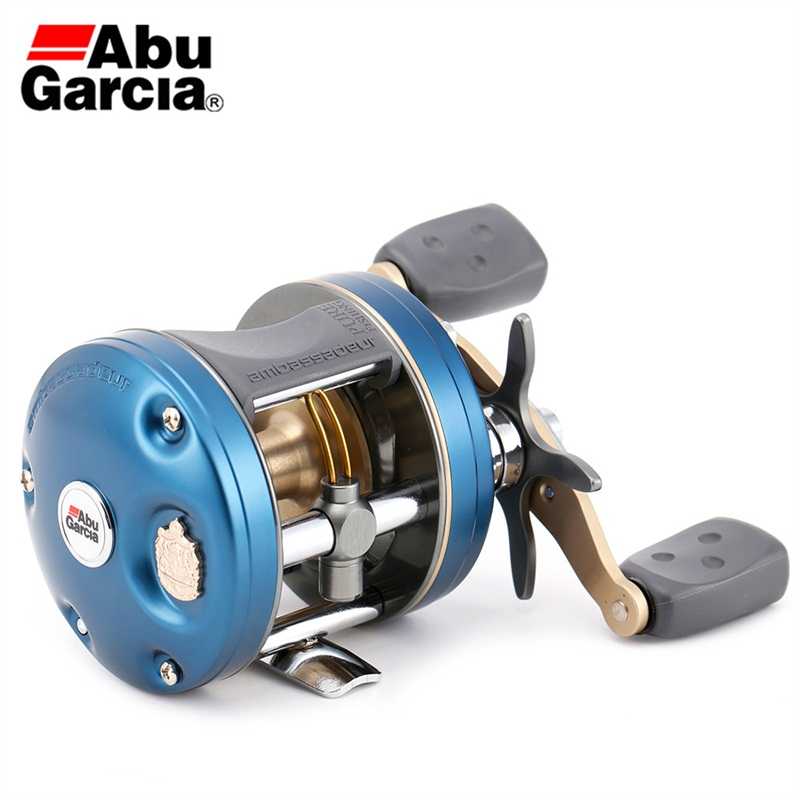Abu Garcia C4-5600/5601 Bait Casting Reel Left/Right Hand Fishing Wheel 4+1BB 6.3:1 Lure Fishing Reel Max Drag 7kg Line 12LB abu garcia revo3 sx hs hs l 10bb 7 1 1 bait casting reel super smooth low profile water drop wheel left right hand max drag 9kg
