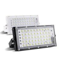 RGB LED overstroming licht 50 W ip66 Waterdichte SMD led R7S cast licht outdoor reclame Lamp spotlight verlichting AC110-240V