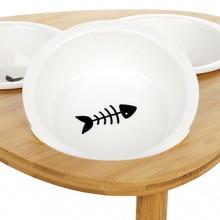 Pet Dog Cat Water Food Travel Bowl