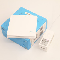 Switch 2 Gang Wireless light 220v Control LED Lamp Switch Remote Touch Push Button Switch