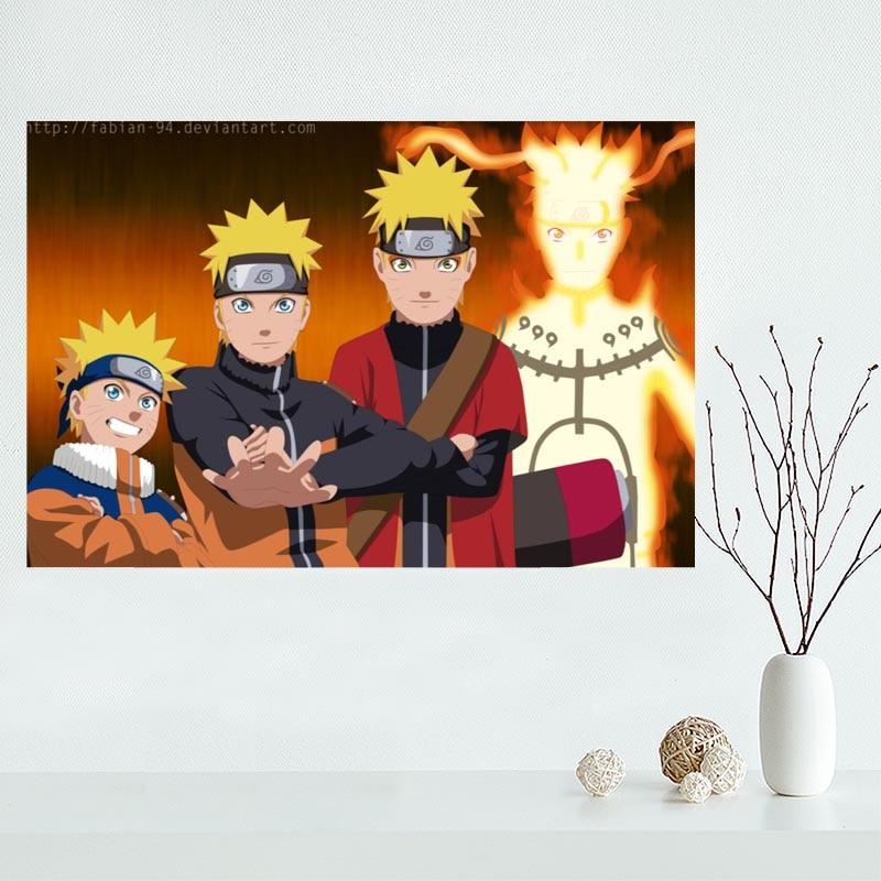Canvas Affiche Naruto Anime Toile Peinture Affiche Nouvelle Arrive